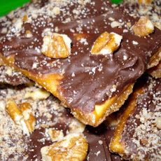Chocolate Toffee Candy Cookies (Saltine Candy)