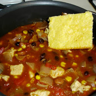 Fifteen Minute Chicken Chili
