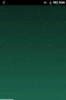 Screenshot of Super Starfield Live Wallpaper