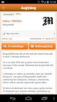 Screenshot of Alfreð