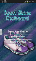 Screenshot of Sport Shoes Keyboard