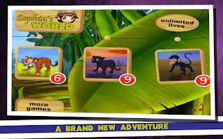 Screenshot of Sophia's World: Jump And Run