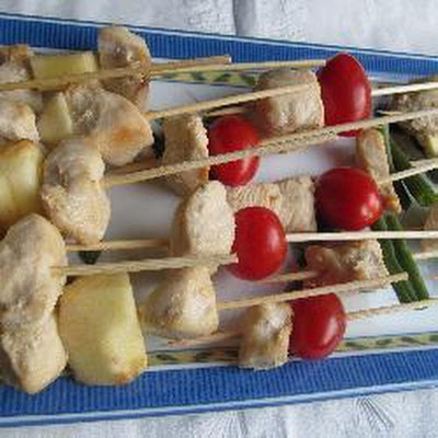 Chicken And Apple Brochettes