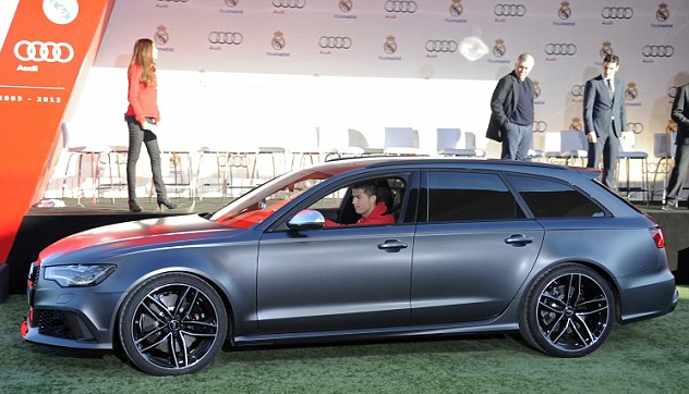 Real Madrid Superstars: Bale and Ronaldo given FREE Audi's for Xmas (PHOTOS) - Carhoots