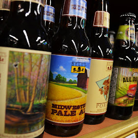 Beers by Nik Atkins - Food & Drink Alcohol & Drinks ( bells, ales, all day ipa, row, beers )