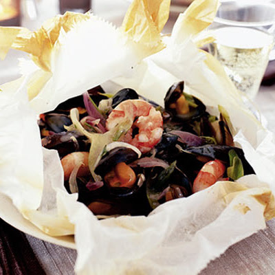 Papillote Of Seafood