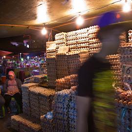 Kota Kinabalu Night Market by Azwan Asmat - City,  Street & Park  Markets & Shops