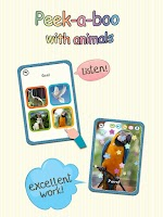 Screenshot of Baby Learning Card - Animal