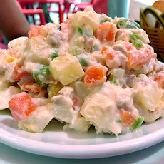 Ensaladilla Rusa -- Spanish Potato Salad (Spain)