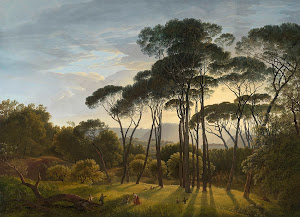 RIJKS: Hendrik Voogd: Italian Landscape with Umbrella Pines 1807