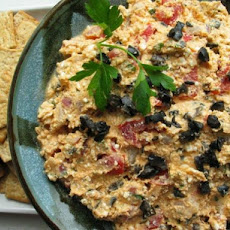 Feta, Olive and Tomato Dip