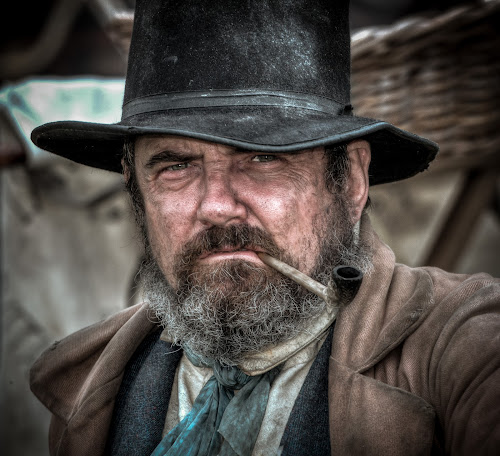 Ragged Victorian by John Walton - People Portraits of Men ( kelmash, history, reenactor, victorian, beard, heritagefocus, rugged, pipe )