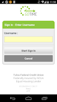 Screenshot of Tulsa Federal GoTime Banking