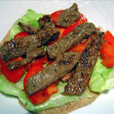 Korean-Inspired Beef in Pita Wraps