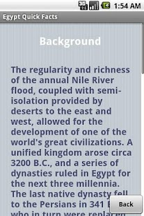 Egypt Quick Facts - screenshot