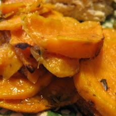 Ginger-Lime Sweet Potatoes