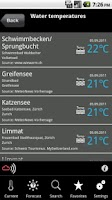 Screenshot of MeteoNews+
