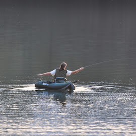 Fly fishing by Delaine Jordaan - Novices Only Sports (  )