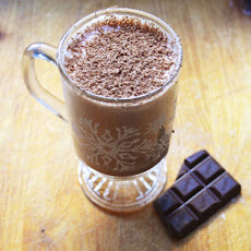 Bourbon Chocolate Eggnog