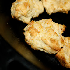 Fast & Easy Low Fat Drop Biscuits
