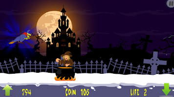 Screenshot of WItch Escape Saga