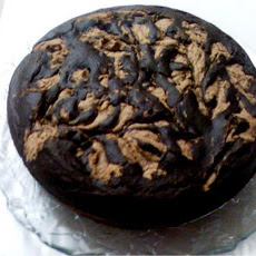Low Cal Chocolatey Peanutty Swirl Cake