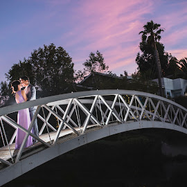 We loved with a love that was more than love by Yansen Setiawan - Wedding Other ( creative, art, losangeles, illusion, love, yansensetiawanphotography, fineart, prewedding, sunset, d800, wedding, lifestyle, la, photographer, yansensetiawan, bridge, nikon, yansen, engagement, the mood factory, mood, lighting, sassy, pink, colored, colorful, scenic, artificial, lights, scents, senses, hot pink, confident, fun, mood factory  )