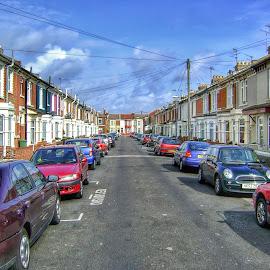 Preston by Bojan Bilas - City,  Street & Park  Neighborhoods ( england, neighborhood, road, Urban, City, Lifestyle )