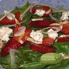 Sharon's Spinach/Strawberry Salad