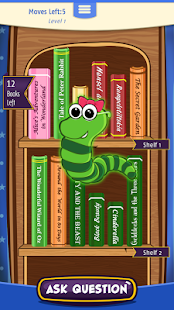 Dolly's Bookworm Puzzle - screenshot