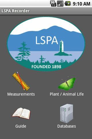 LSPA Observation Recorder