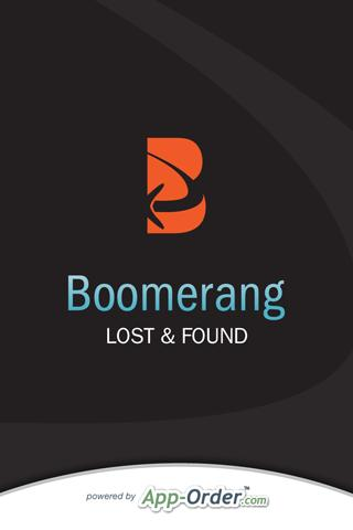Boomerang Lost and Found
