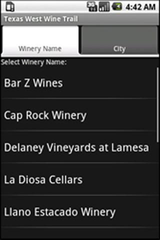 【免費旅遊App】Meritage West TX Wineries-AND1-APP點子