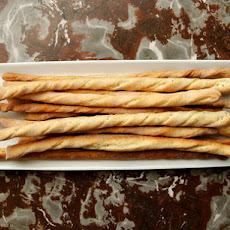 Crunchy Garlic and Herb Bread Sticks