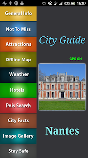 Nantes Offline Map Guide - screenshot