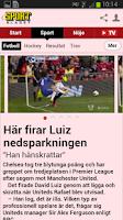 Screenshot of Sportbladet