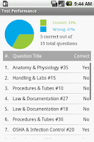 Screenshot of Phlebotomy Tech Exam Prep