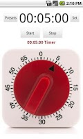 Screenshot of Gourmet Timer Free