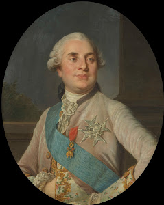 RIJKS: workshop of Joseph Siffrède Duplessis: Portrait of Louis XVI, King of France 1789