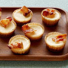Mini Bacon Cheesecakes