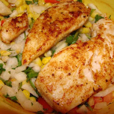 Blackened Chicken Breasts With Cajun Corn Relish (Ww)