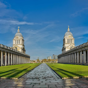 University of Greenwich by Krasimir Lazarov - Buildings & Architecture Public & Historical ( travel destination, uk, london, cityscape, architecture, united kingdom, greenwich )