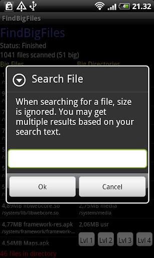 玩免費生產應用APP|下載FindBigFiles app不用錢|硬是要APP