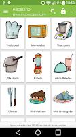 Screenshot of Recetario, recetas de cocina