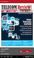 Screenshot of Telecom Review Asia Pacific