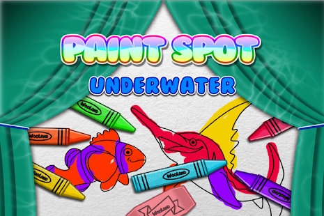 Paint Underwater for Toddlers - screenshot