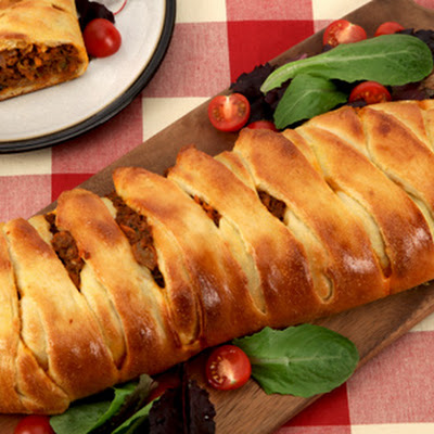 Braided Cheesy Beef Sandwich CBC Best Recipes Ever