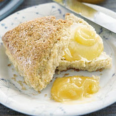 Crunchy Crusted Citrus Scones