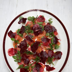 Fresh Smoked Salmon & Beetroot Salad