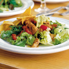 Cajun Turkey Salad With Guacamole
